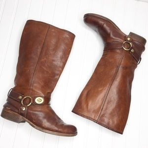 Coach | Wendy Leather Riding Boots